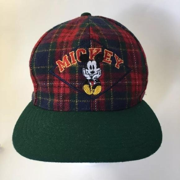 ead2d6cff8 Mickey & Co. Red Tartan Plaid Wool Blend Hat